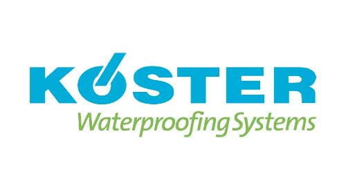 Certified Installer of Koster Waterproofing Systems